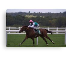 Frankel Stretches Out Canvas Print