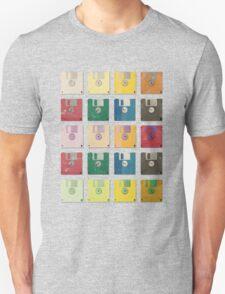 Vintage Computer Diskettes  T-Shirt