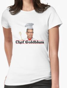Chef Goldblum Womens Fitted T-Shirt