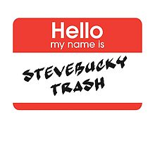 SteveBucky Trash by periphescence
