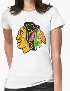 blackhawks Womens Fitted T-Shirt