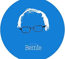 Bernie 2016 (Detailed Hair & Glasses) by CrankyCitizen