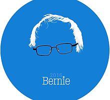Bernie 2016 (Detailed Hair & Glasses) by CrankyCitizen