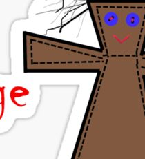 Voodoo Doll Seeks Revenge Sticker