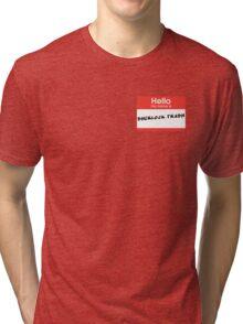 Sherlock Trash Tri-blend T-Shirt