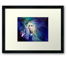 Sapphire Blue Framed Print