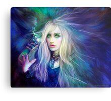 Sapphire Blue Metal Print