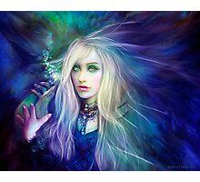Sapphire Blue Photographic Print