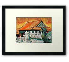 Forbidden City Framed Print