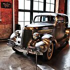 Ford Deluxe Sedan with Stainless Steel Body by James Watkins