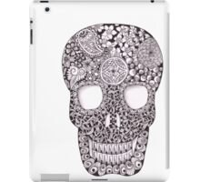 Zentangle Skull iPad Case/Skin