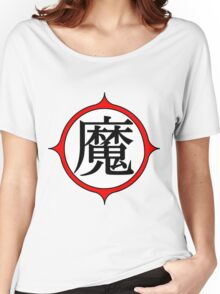 Piccolo Daimao (MA) Kanji Women's Relaxed Fit T-Shirt