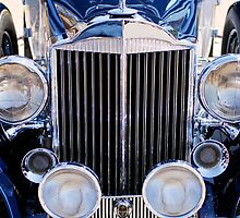 1933 Packard 12 Convertible Coupe Grille by Jill Reger