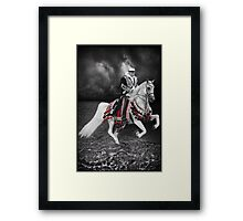 ·٠•● █░║► RIDING THE ARABIAN STORM PICTURE/CARD  ◄║░█ ●•٠· Framed Print