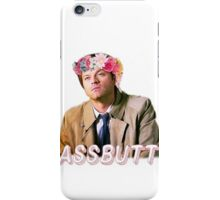 Castiel Assbutt Flower Crown iPhone Case/Skin