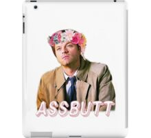 Castiel Assbutt Flower Crown iPad Case/Skin