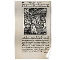 Contemplation Life and Passion Our Lord Jesus Christ Albrecht Durer 1557 0086 Poster