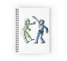 Disco Discos & Diego Boogies Spiral Notebook