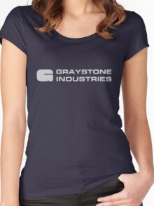 Graystone Industries Women's Fitted Scoop T-Shirt