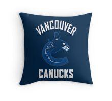 Canucks Throw Pillow