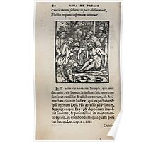 Contemplation Life and Passion Our Lord Jesus Christ Albrecht Durer 1557 0084 Poster