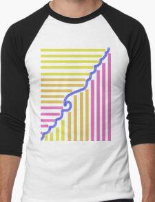 Sunset Waves- ATMAS Men's Baseball ¾ T-Shirt