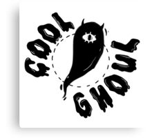 Cool Ghoul 2 Canvas Print
