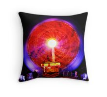 Fair Ground Ride. Throw Pillow