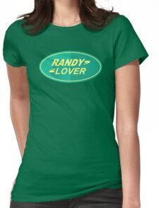 randy Lover Womens Fitted T-Shirt