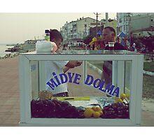 Stuffed mussels,TURKEY Photographic Print