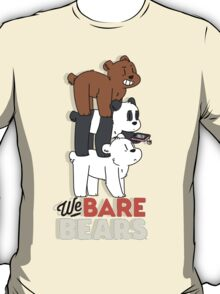 We Bear Bears T-Shirt
