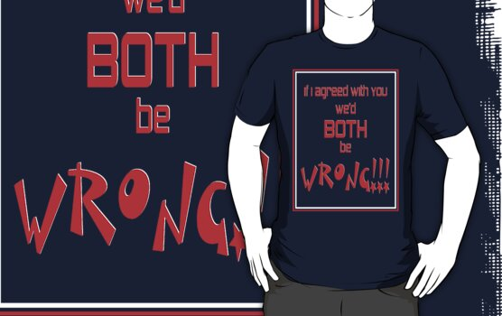 Both Wrong (Red/White) by MarjorieB