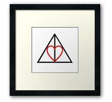 Deathly Hallows<3 Framed Print