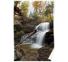 Shawnee Falls II (Autumn) Poster