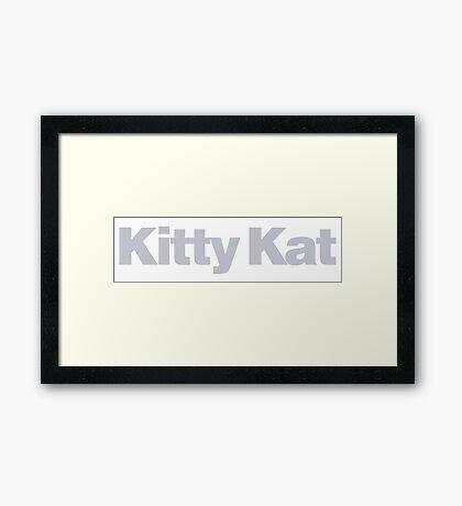 Pulp Fiction - Kitty Kat Framed Print