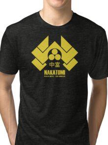 Nakatomi Plaza Tri-blend T-Shirt
