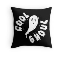 Cool Ghoul 1 Throw Pillow