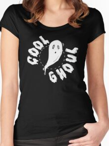 Cool Ghoul 1 Women's Fitted Scoop T-Shirt