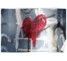 Heart graffiti  Poster