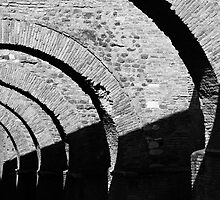 Diminishing Arches by John Nelson
