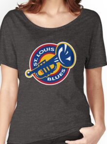 Blues Women's Relaxed Fit T-Shirt