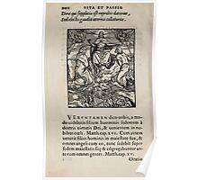 Contemplation Life and Passion Our Lord Jesus Christ Albrecht Durer 1557 0106 Poster