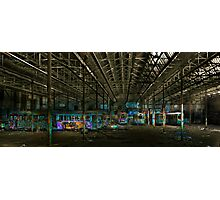 urban decay - sydney tramsheds Photographic Print
