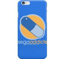 Sega Addicts - Classic Logo iPhone Case/Skin