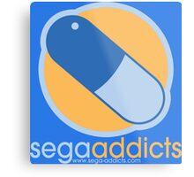 Sega Addicts - Classic Logo Metal Print