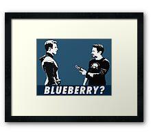 Blueberry? Framed Print