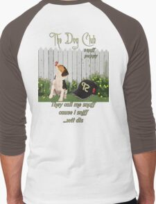 """""""Snuff Puppy"""" Men's Baseball ¾ T-Shirt"""