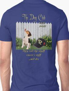 """Snuff Puppy"" Unisex T-Shirt"
