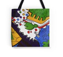 Tea for Two Abstract  Section 5  Tote Bag