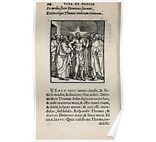 Contemplation Life and Passion Our Lord Jesus Christ Albrecht Durer 1557 0098 Poster